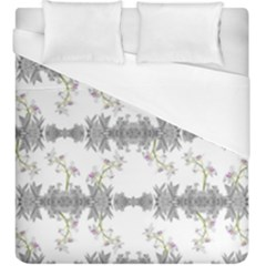 Floral Collage Pattern Duvet Cover (king Size)