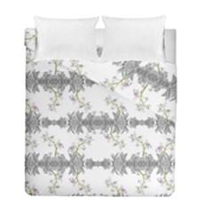Floral Collage Pattern Duvet Cover Double Side (full/ Double Size)