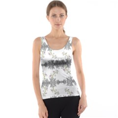 Floral Collage Pattern Tank Top