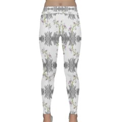 Floral Collage Pattern Classic Yoga Leggings