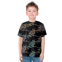 Birds With Nest Rainbow Kids  Cotton Tee