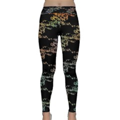 Birds With Nest Rainbow Classic Yoga Leggings