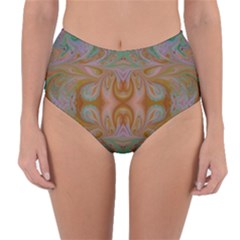 Summer Love Reversible High Waist Bikini Bottoms