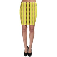 Pattern Background Wallpaper Banner Bodycon Skirt
