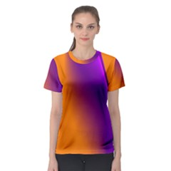 Lines Network The Ribbon Red Women s Sport Mesh Tee