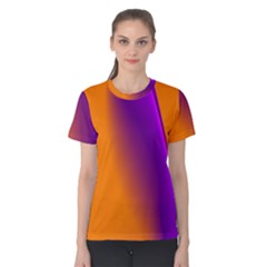 Lines Network The Ribbon Red Women s Cotton Tee