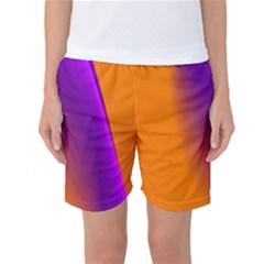 Lines Network The Ribbon Red Women s Basketball Shorts