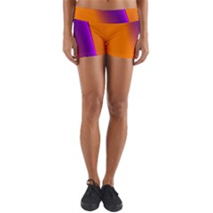 Lines Network The Ribbon Red Yoga Shorts