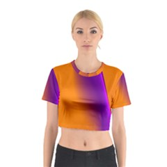 Lines Network The Ribbon Red Cotton Crop Top