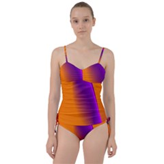 Lines Network The Ribbon Red Sweetheart Tankini Set
