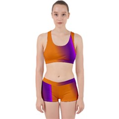 Lines Network The Ribbon Red Work It Out Sports Bra Set