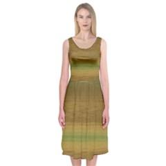 Ombre Midi Sleeveless Dress