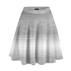 Ombre High Waist Skirt