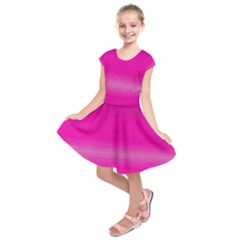 Ombre Kids  Short Sleeve Dress