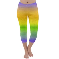 Ombre Capri Winter Leggings