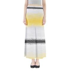 Ombre Full Length Maxi Skirt