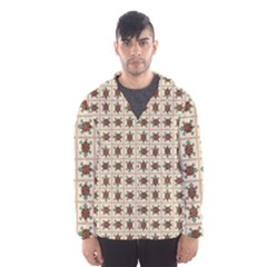Native American Pattern Hooded Wind Breaker (men)