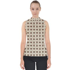Native American Pattern Shell Top