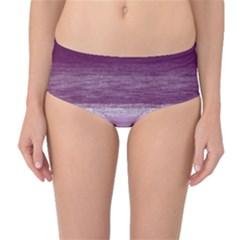 Ombre Mid Waist Bikini Bottoms
