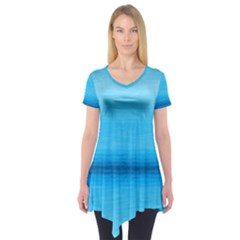 Ombre Short Sleeve Tunic