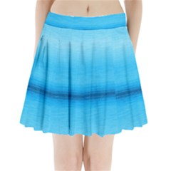 Ombre Pleated Mini Skirt