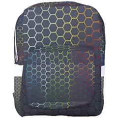 Abstract Resize Full Print Backpack