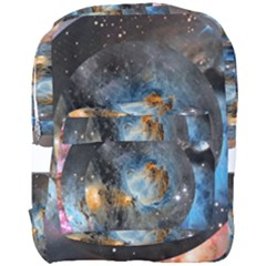 Abstract Abstract Space Resize Full Print Backpack