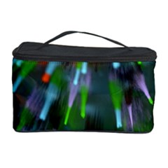 Explosion Rays Fractal Colorful Fibers Cosmetic Storage Case