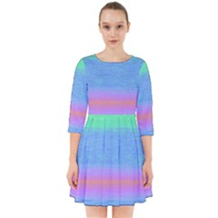 Ombre Smock Dress