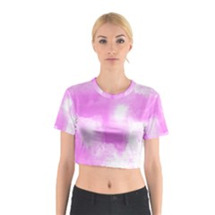 Ombre Cotton Crop Top
