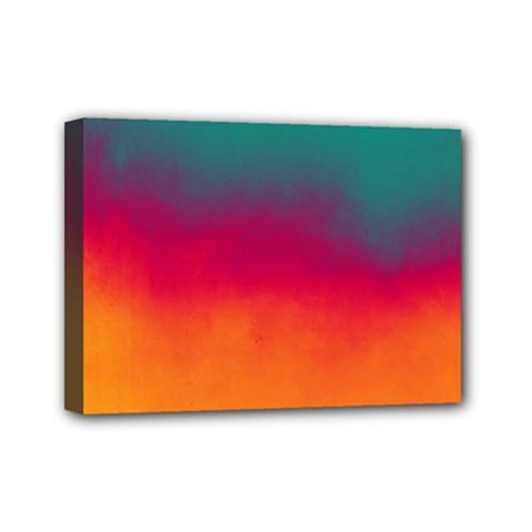 Ombre Mini Canvas 7  X 5