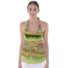 Ombre Babydoll Tankini Top