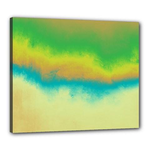 Ombre Canvas 24  X 20