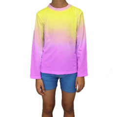 Ombre Kids  Long Sleeve Swimwear