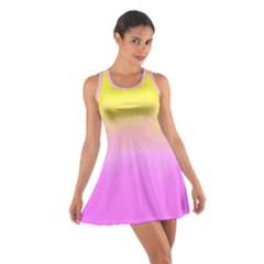 Ombre Cotton Racerback Dress