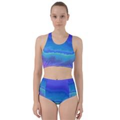 Ombre Racer Back Bikini Set