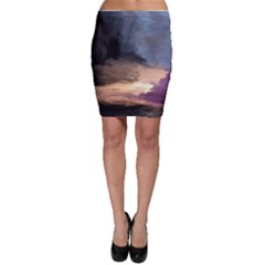 Texture Background Color Style Bodycon Skirt