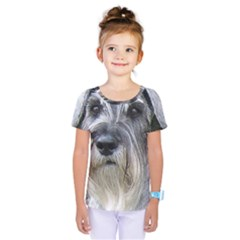 Standard Schnauzer 2 Kids  One Piece Tee