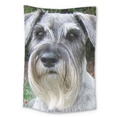 Standard Schnauzer 2 Large Tapestry