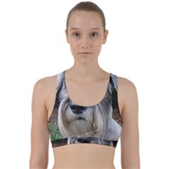 Standard Schnauzer 2 Back Weave Sports Bra