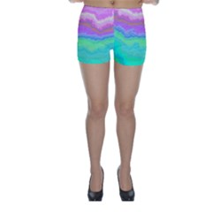 Ombre Skinny Shorts
