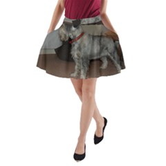 Standard Schnauzer Full A Line Pocket Skirt