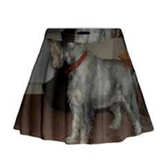 Standard Schnauzer Full Mini Flare Skirt