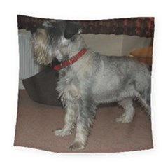 Standard Schnauzer Full Square Tapestry (large)
