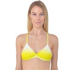 Ombre Reversible Tri Bikini Top