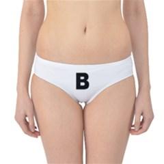 B Is For Border Terrier Hipster Bikini Bottoms