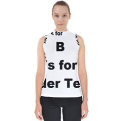 B Is For Border Terrier Shell Top