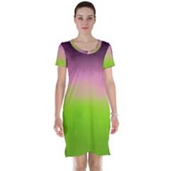 Ombre Short Sleeve Nightdress