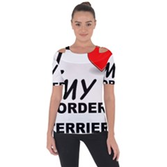 Border Terrier Love Short Sleeve Top