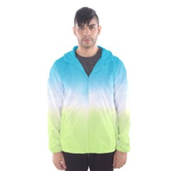 Ombre Hooded Wind Breaker (men)